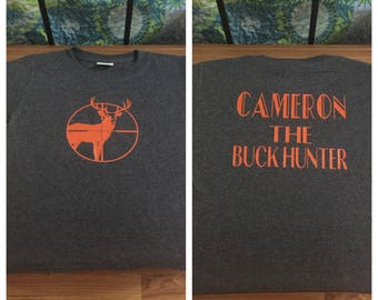 Kids Toddler the Buck Hunter Shirt