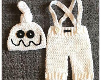 Ghost Baby Costume, Ghost Costume, Baby Costume, Baby Halloween Costume, Halloween Costume, Baby Ghost, Newborn Ghost Costume, Ghost Baby