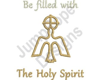 Holy Spirit - Machine Embroidery Design