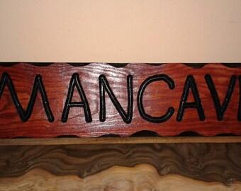 Rustic Man Cave Sign