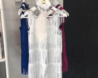 Gatsby wedding dress etsy girls gatsby dress junglespirit Gallery