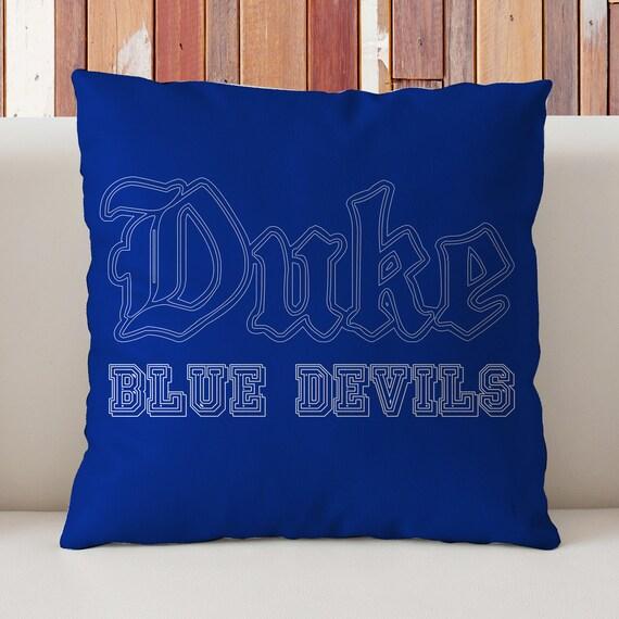 Duke University Pillow Blue Devils Dormrhetsy: Duke Blue Devils Home Decor At Home Improvement Advice