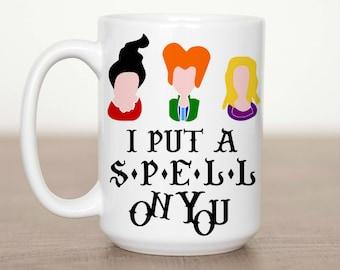 11 oz or 15 oz I Put a Spell On You Mug