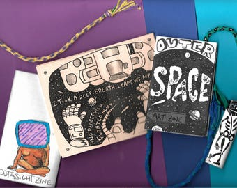 Outer Space Art Zine!