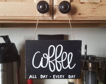 Canvas Art- Coffee- Decor