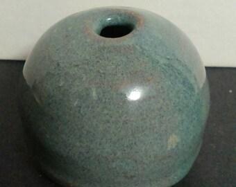 Antique Chinese Beehive Glazed Brush Pot