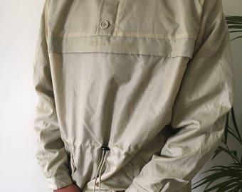 Amazing Calvin Klein quarter zip up windbreaker, size L