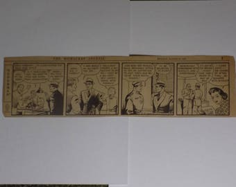ORIGINAL SUPERMAN Daily Comic Strip - The Milwaukee Journal - Monday, August 28 1939 - 25% Off!