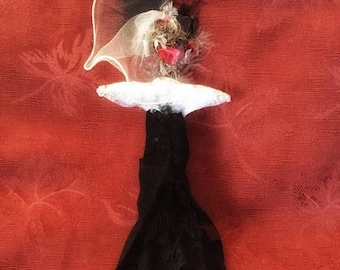 On Sale Voodoo Doll NEW Bride Marraige Doll Wedding Doll Good Luck New Orleans