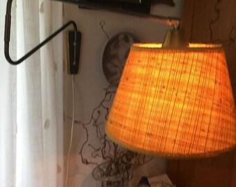 Vintage scandinavian mid century wall lamp