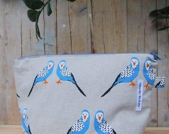 PROMO FLASH! Free shipping! beauty case parakeets