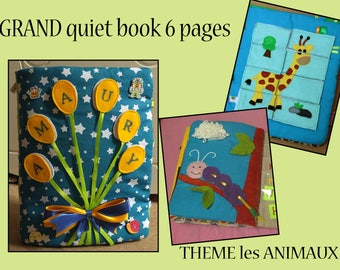 Great Quiet Book 6 pages balloon animals