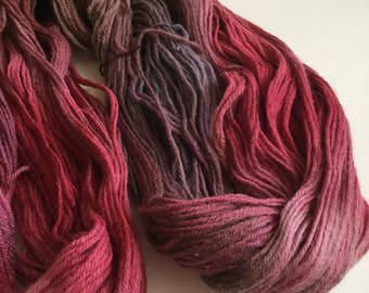 Hand Dyed Yarn | Hand Dyed Knitting Yarn | Sport Weight Yarn | Ready To Ship