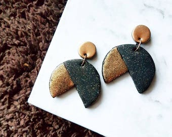 Metallic Rocket Earrings
