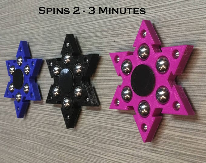 Featured listing image: Fidget spinner, Fidget toy, EDC Spinner, Stress Reliever, Anxiety Toy, ADHD Toy, Autism Toy, Fidget Gadget Super Ninja Hexa +