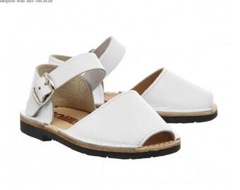 Solillas Kids Sandals White (Bebe Blanco Infant)