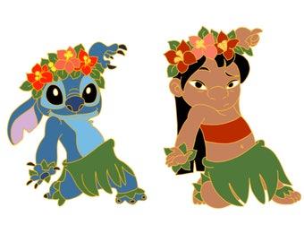 Hula Lilo and stitch