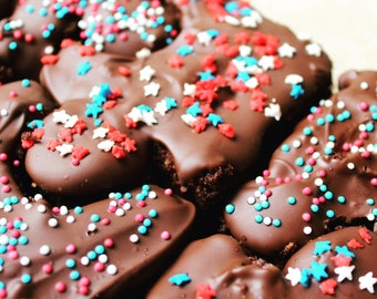 Jigsaw Chocolate Sprinkles Pieces - box of 8