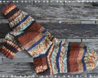 Handgestrickte Socken Gr.36/37