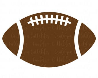 Football SVG File - Football Clipart - Sports DXF EPS Png Cut File - Diecut Machine Digital File - Instant Download