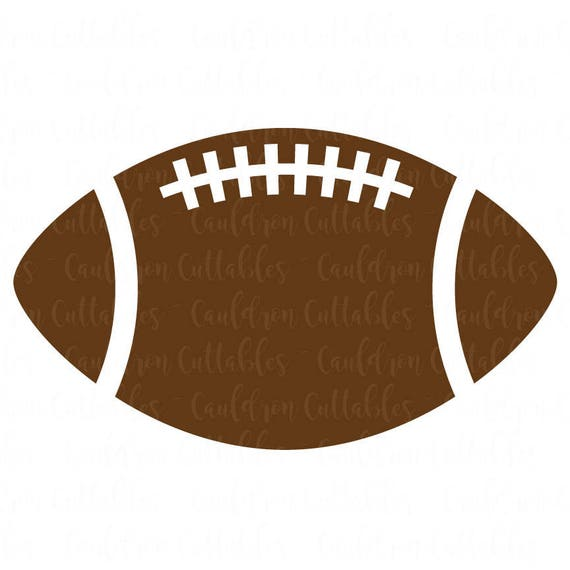 Football SVG File Football Clipart Sports DXF EPS Png Cut