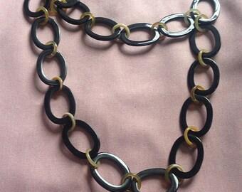 Natural Buffalo Horn Necklace, Necklace Handmade, Women Necklaces, Handmade Necklace [NHL25]