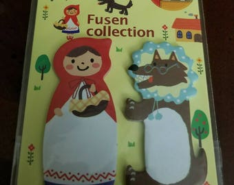 Kawaii Red Riding Hood Sticky Notes