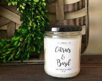 Farmhouse Candle, Fixer Upper Candle, Rustic Decor, All Natural Soy Candle, Handmade Candle, New House gift, Relaxation Gift, Aromatherapy