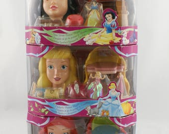 Disney Rare Cinderella, Little Mermaid and Snowwhite Portrait Play set New and unopened in the box
