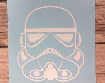 Storm Trooper Vinyl Decal * Star Wars Vinyl Decal * Disney Vinyl Decal