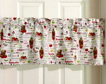Vintage, Chef Kitchen,Country,Country Kitchen Valances,Rustic Kitchen  Curtains, Kitchen