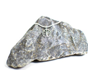 Handcrafted Sterling Silver Tree of Life Design Pendant