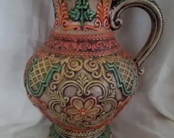 French Lattice work vase