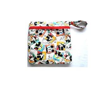 FREE SHIPPING - Wet Bag/ Diaper Clutch/ Makeup Bag/ Cosmetic Bag/ Toiletries/ Diaper Bag Organizer/ Gift