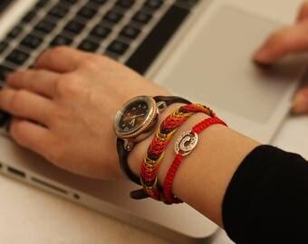 Handmade macrame bracelet - Africa