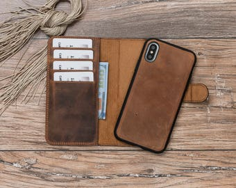 iPhone X Leather Wallet Case, Leather iPhone X Wallet Case, iPhone X Wallet Case, iPhone X Case, iPhone X Leather Case, iPhone X wallet#POLİ