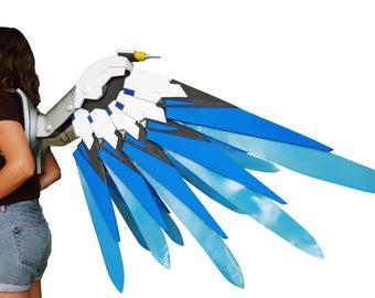 Mercy Wings from Overwatch Combat Medic Ziegler skin, cosplay prop