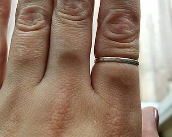 custom size stacking rings