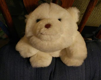 1980 Gund Small Polar Bear Snuffles