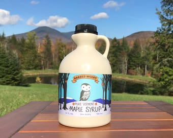 Pure Vermont Maple Syrup - One Quart