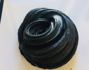 Charcoal Butter Slime 7oz
