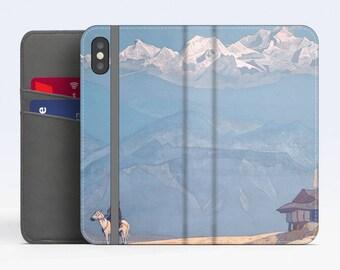 "Nicholas Roerich, ""Remember"". iPhone X Wallet case iPhone 8 Wallet case  iPhone 7 Plus Wallet case. Samsung Wallet cases."