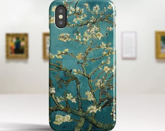 "iPhone X Case Van Gogh ""Blossoming Almond Tree"" iPhone 8 Case Art iPhone 8 Plus Case iPhone 7 case iPhone 7 Plus Case. iPhone X TOUGH cases."