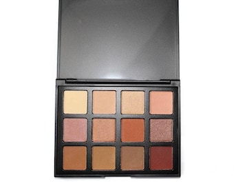 Miinachi Cosmetics Soft Sands Eyeshadow Palette Cheap But Good Quality Pigmented Easily Applied Perfect Nude Shades