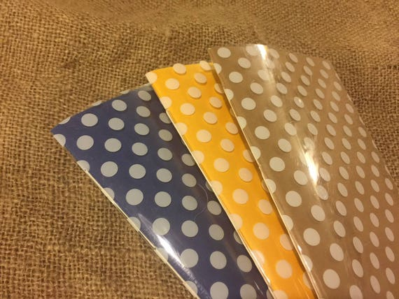 SET OF THREE Hand-stitched polka dot traveler's notebook inserts gift pack journal refills