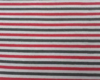 Candy Cane Stripes fat quarter