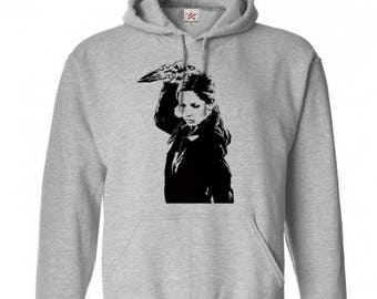 Buffy the Vampire Slayer Unisex Hoodie Pullover Hooded Sweatshirt Many Sizes Colors Custom Horror Halloween Merch Massacre