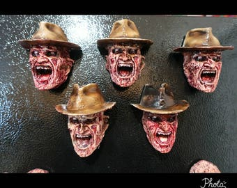 Freddy with hat magnet