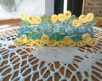 Hand Quilled Business Card Holders