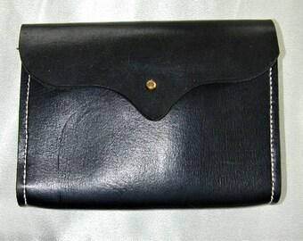 Possibles bag Black Leather